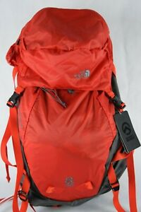 NWT $249 North Face Proprius 50 Summit Series Fiery Red HIKING Backpack Grey ski