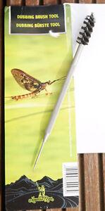 Dubbing Brush & Nadelspitze Edelstahl Fliegen ausbürsten Dubbing auszupfen uvm.