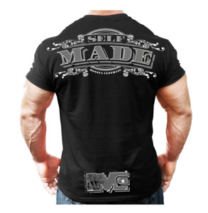 New Authentic Monsta Self Made Men T-Shirt