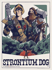 STRONTIUM DOG Matt Ferguson SOLD OUT Signed Ltd Print #93/100 Judge Dredd Mondo