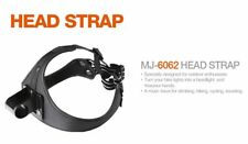 Head Strap Pro and extension cable kit for MagicShine MJ880 Bike Light Oval Plug