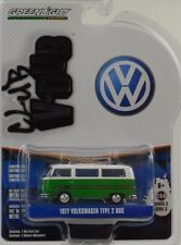 1977 VW Volkswagen Type 2 1:64 Greenlight V-DUB Club
