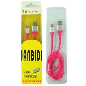3A High Speed Micro USB Charging Cable for Android Smart Phones Samsung LG