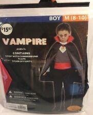 Seasons Vampire Boy's Costume Size M (8-10)