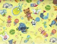 Rockabye toys toss yellow Avlyn fabric