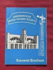 Gainsborough Model Railway Society Souvenir Brochure 1994