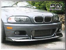 BMW 2001-2006 M3 Only 2Dr A Style Carbon Fiber CF Front Bumper Lip