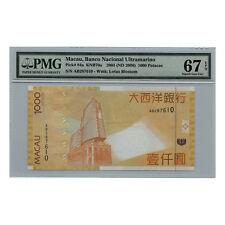 *jcr_m* MACAU MACAO 1000 PATACAS BANK OF CHINA 2006 P.84A MS-67 *UNCIRCULATED*