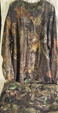 Mens light weight CAMO hunting SUIT 3X REDHEAD mossy oak real tree pullover top