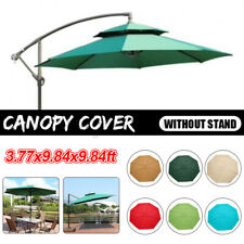 9.8X9.8FT Replacement Garden Parasol Canopy Cover Roof For 8 Arm Sun Umbrella