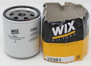 WIX Filters - 33361 Heavy Duty Spin-On Fuel Filter, Pack of 1 MANN+HUMMEL 33361