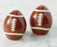 NEW Football Salt Pepper Shakers Perfect Gift for Football Lover Collector
