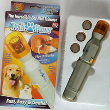 Pedi Paws Nail File Trimmer Pedipaws Dog/Cat Pet Nail Trimmer Kit Set