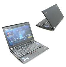 "Gaming Ordinateur portable Lenovo ThinkPad X220 12.5"" 500 Go Intel i5 2.5GHz 8 Go Win 7 10 SSD"