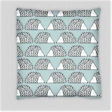 Scion Estilo Erizo Azul Lino Doble Cara Cushion Covers 45cmx45cm (18x18)