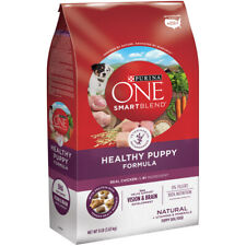 Purina  ONE SMARTBLEND  Chicken, Rice, Oatmeal  Dry  Dog  Food  8 lb.