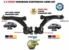 FOR MAZDA 3 2003-2009 2 FRONT LEFT+ RIGHT SIDE LOWER WISHBONE SUSPENSION ARM SET