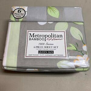 Metropolitan Bamboo Home Sheet Set Choose Your Style 1800 Series NEW