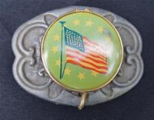 Vintage United States Flag Belt Buckle