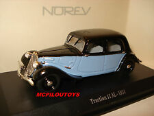 NOREV CITROEN TRACTION 11 AL 1934 BICOLORE  au 1/43°