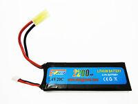 Pacco batteria Lipo Litio Rettangolare 2200 mAH 7,4 V E-Power Golden Bow