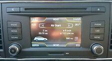 SEAT LEON II 5f Autoradio Schermo CD Bluetooth mp3 Scheda SD vedere le immagini
