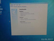 Sony Vaio Desktop Linux Fedora 12 512Mb 1.8 Ghz 50 Gb P4 Win XP Era