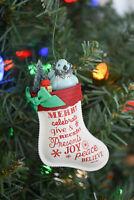 Hallmark: The Joy of Giving - Christms Stocking - 2016 Keepsake Ornament