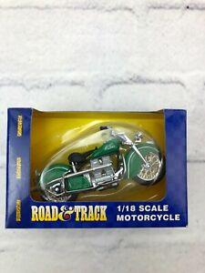 Maisto Road & Track 1/18 Scale Motorcycle Indian Kawasaki Honda #31026