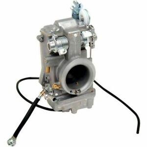 NEW! Genuine Mikuni TM42-6, (HSR42) Carburetor w/ Choke Cable and Tuning Manual!