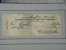 BABE RUTH PSA/DNA CERTIFIED AUTHENTIC SIGNED CHECK AUTOGRAPHED MINT YANKEES
