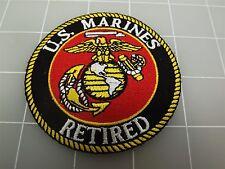 "BRAND NEW U.S. Marines RETIRED USMC LOGO Patch 3"""
