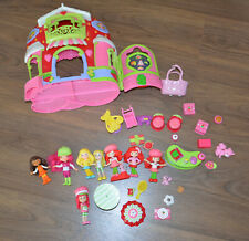 Lot Strawberry Shortcake miscellaeous things 34 pieces