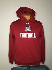 Under Armour South Carolina Gamecocks Football Pullover Hoodie Size Small