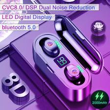 Bluetooth наушники Tws беспроводные наушники светодиодный близнецы мини-наушники Стерео гарнитура