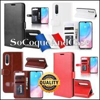 Etui housse coque Cuir PU Leather Case Xiaomi Mi 9 Pro, Mi CC9, Mi A3 (Mi CC9e)