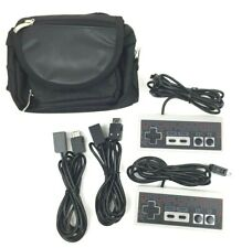 Orzly Essentials Accessory Pack with Cables & Bag for Nintendo NES Mini Classic