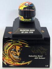 Minichamps 1/8 Scale 397 980046 - AGV Helmet Moto GP 250 1998 V. Rossi