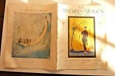 Le Miroir des Modes Juillet 1921 n°1 Mode Vêtements-Broderies Travaux féminins
