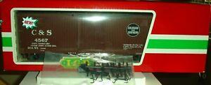 LGB 45670 Colorado & Southern Box Car G Scale NEW In Original Box