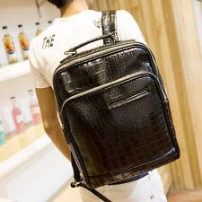 2016 Men's Large Capacity Genuine Leather Mens Backpack Outdoor Laptop SLR Bag