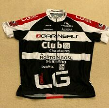 LOUIS GARNEAU CYCLING Club LG Energy Gel JERSEY XXL MENS Black White Red