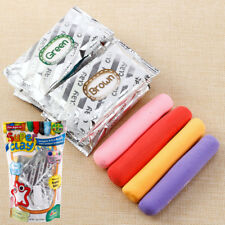 12 Colours Air Dry Super Light DIY Modelling Soft Magic Sticky Clay Kid's Crafts