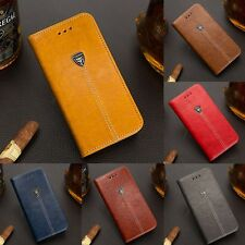 Luxury Retro Flip Leather For Samsung Note 8 S8 S7 Case Wallet Card Holder Cover