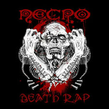 NECRO - DEATH RAP CD SIGNIERT SIGNED Ill Bill Wacken Wu-Tang Clan SUICIDEBOYS