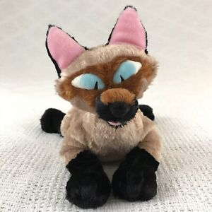 """Disney Store Lady and the Tramp Siamese if You Please """"Am"""" Cat Plush 12in Rare"""