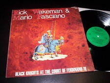 "Rick Wakeman & Mario Fasciano ""Black Knights At The Court Of Ferdinand IV"" LP"