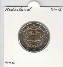 Nederland 2 euro 2007 UNC : Verdrag van Rome