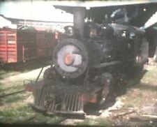 Costa Rica Super 8mm Home Movie Reels Trains Railroad 6 Reels