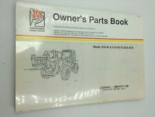 JCB 510-40 & 510-40 Place-Ace  Loadall Parts Book Manual M561011 - On  9800/7808